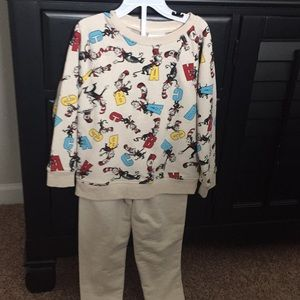 Other - Boys Dr. Seuss outfit
